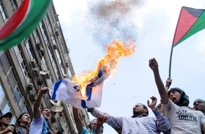 Egypt's anti-Israel fire: The Israeli embassy in Cairo came under fire May 15 in line with Nakba protests.  This marks the  first time the embassy has been under attack in Egypt since the controversial peace treaty with Israel of Sadat '79 following Camp David.