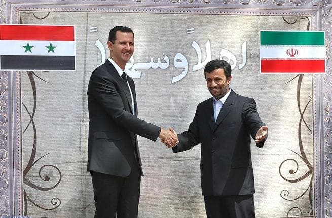 The label Axis of Evil has a tendency to stick. And the Islamic Republic of Iran with its nuclear potential, the Syrian regime (in Muslim hands) slaying its way through its people, and Hezbollah (Party of God) standing suspected of murdering at least two Lebanese heroes, have collectively certainly fueled the trio's bad rap.