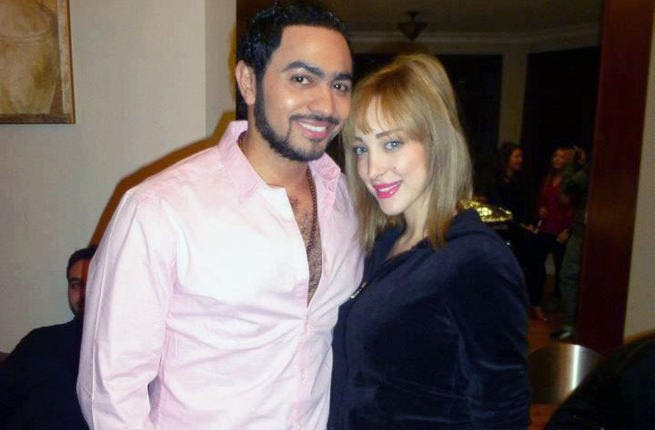 Tamer Hosny: After haters dissed his wife's far-from-fashionista closet throughout 2013, T is planning to make 2014 one filled with memories worth millions...at the mall. We'll bet Hosny's resolved to spend big bucks (thanks MBC!) to boost wife Basma's wardrobe - no more drab mom jeans for momma Hosny!