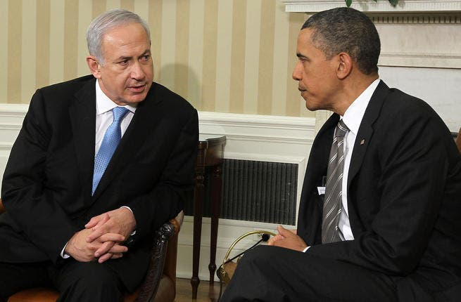 Mutual speeches Obama and Netanyahu or dueling speeches as they came to be known: these mirror speeches, following one another, seemed to be in avoidance of a face-to-face conversation that might actually develop a viable plan. Instead, both May addresses stayed non-committal.