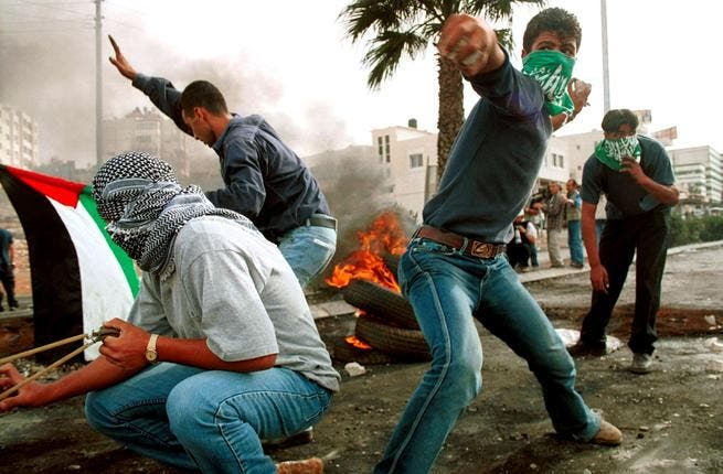 3rd Intifada? Bleak forecasts on the Palestinian, as well as the Arab 'Sprung', Street predict a Palestinian crisis.  The PA delegation-  as forerunners of this presumed state who forged ahead without the OK of all Palestinians-  are still tarred as collaborators of Israel, as well as being suspected of a last-ditch attempt to secure a PA  legacy.