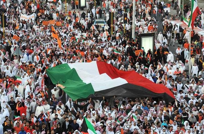 Kuwait racked up 2 controversial elections in 2012. Opposition activists boycotted take-2 of the December polls following an unpopular change to the electoral law. And - flying in the face of the government's ban on gatherings of more than 20, unless approved by the interior ministry - large-scale protests have continued to sweep the country.