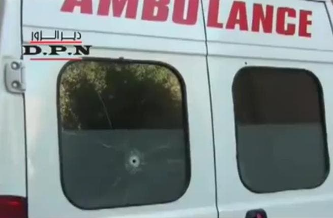 Crimes against the weak: Assad's forces deploy ambulances to ambush protesters with. Eight premature infants dependent on 