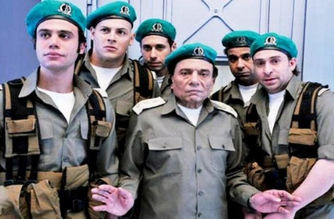 Egyptian bank heist: Ferqet Naji Ata Allah‪,‬ (Naji Ata Allah's Gang) stars former Mubarak-ite Adel Imam - Egypt's comedy man recently charged with offending Islam - as a retired army officer at Tel Aviv's Egyptian embassy. His anti-Israeli stance lands him in hot water. When an Israeli bank freezes his money, he forms a gang and robs the bank.