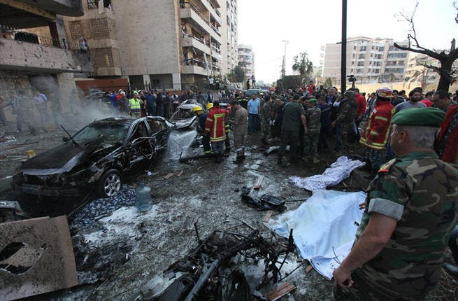 Beirut bomb of Iranian embassy: With sectarian tensions running high throughout the country, Beirut was an anomalous modicum of calm…until November. A double car bomb attack on the Iranian embassy killed 22 people – including the Iranian cultural attaché, Ibrahim Ansari. Sunni jihadist group Abdullah Azzam Brigades claimed the attack.