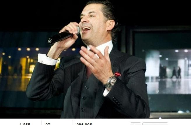 "Ragheb Alamah is staying well clear of the drama: Alamah fans on twitter complained to him that diva, Ahlam, was mocking and attacking them (as well as him), and looking like the cat who'd got the cream. They pleaded with him to intervene but Ragheb would only reply:""Eh, let her be happy."""