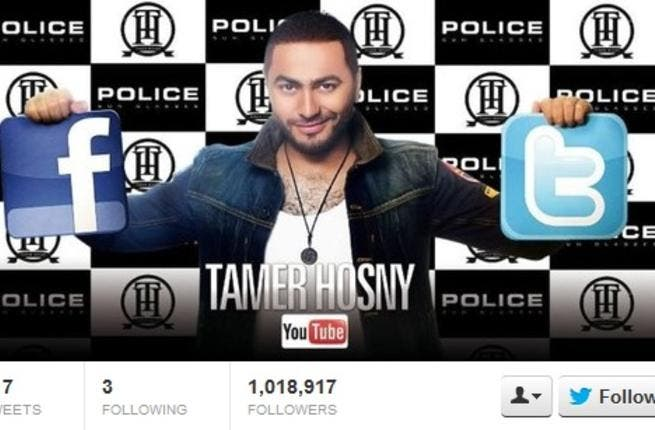 Egypt's 'gangsta' Tamer Hosny, who has collaborated with Snoop Dogg, played it desperate in the social media world. According to rumors, Hosny had to buy Twitter followers rather than gain them. Looks like a stint in tweeting rehab is up next.