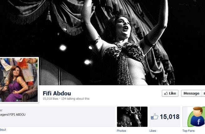 It wasn't me! Fifi Abdo, the famous Egyptian belly dancer, denied having any Facebook or Twitter accounts. She said people were guilty of online identity fraud. To what nefarious ends would these social media hacker-crooks be hijacking her name and notorious image?