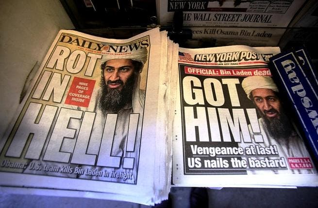 In the end, Osama Bin Laden died in a house where he would order in his meals and watch TV--kind of like the
