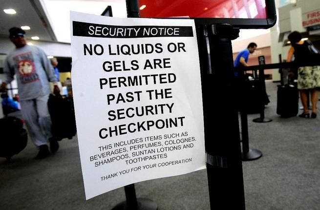The age of ultra security: We could fear bags, phones, pc's and even liquids. International travel 