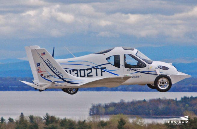 We must be in the future if we have flying cars in our time.