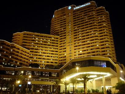 The Semiramis InterContinental was looted on Tuesday morning. (Image courtesy of the hotel's website)