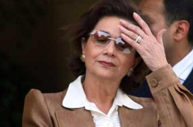 Chief Consort: Mrs. Mubarak had in the last decade become a powerful mover in Egyptian politics. She didn't lift a finger to directly act in government affairs, instead pushing for her son Gamal's succession to the Presidency.  Mocked as Nefertiti of  Egypt or Great 'Royal' Wife.
