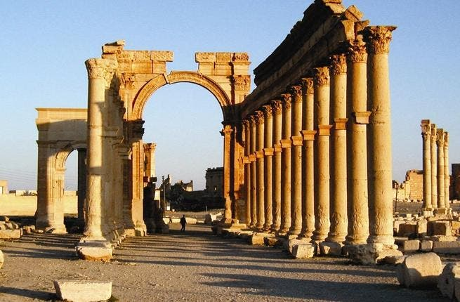 Palmyra: according to reports coming from the Turkish border, Syria's most famous tourist attraction is rapidly falling victim to local thieves. The museum has been looted and the temple and theater are falling into ruin.