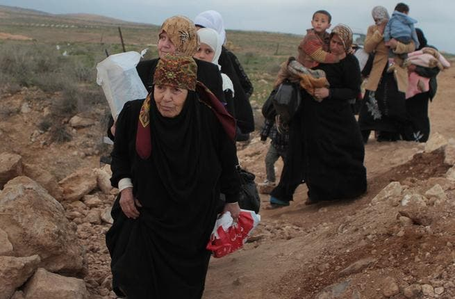 Thousands of refugees entered Jordan from Syria last weekend (Photo UNHCR/B. Sokol)