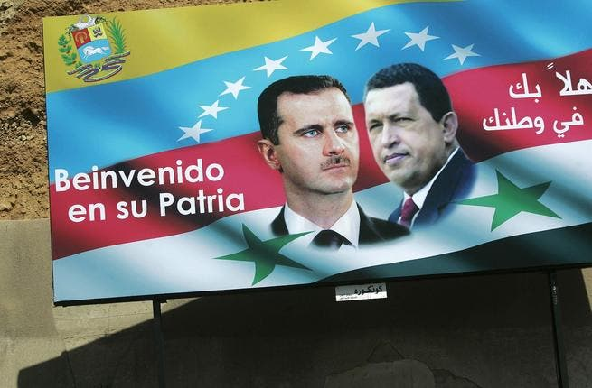 Hugo Chavez & the Syrian - Latin America alliance: Recently, Chavez reiterated his call for respect for independence and sovereignty of all countries, stressing the infringement of any country attacking another's territories. Venezuelan Chavez said in a joint statement with Ahmadinejad recently that he supported Syrian reforms.