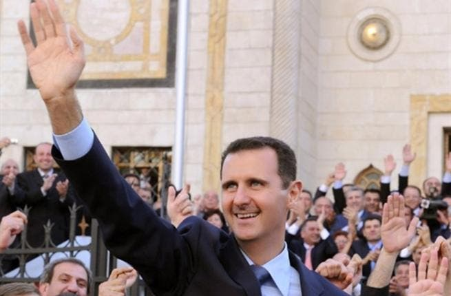 Hailing his people and power, a smiling, smug Bashar is not so formidable as father who ruled by force, and it is perhaps his cronies and military that lend him the iron fist he nevertheless wields. Known as more of a soft touch, on a path for doctoring, not dictating initially.