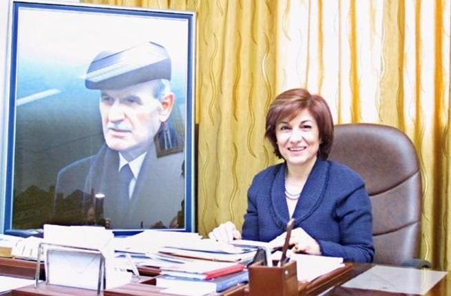 Bouthaina Shaaban: Longtime spokeswoman for the Regime- served under both father and son.