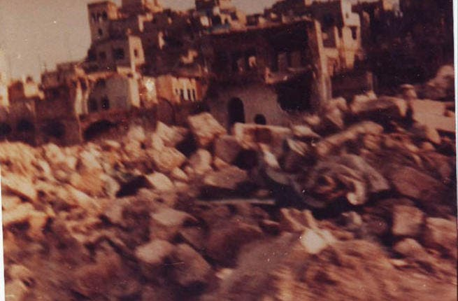 Hama then (1982) No Call for Prayer for 3 months after the massacre, as all mosques wiped out in the large scale destruction; today from Hama we get phone camera-coverage, that, while not  the best quality, speaks volumes for this long-silent town.