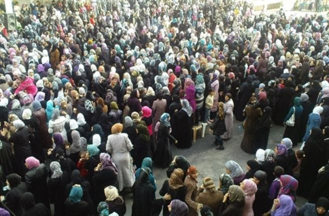 Syrian women bolster Banias: Some 2,000 women rallied