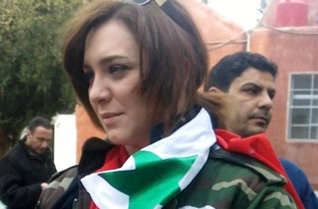 Sulaf Fawakhergi: This Syrian A-list actress has been pro-Assad all the way. She pronounced her unwavering support for the referendum in a speech. Draped in the regime's Syrian flag, she said