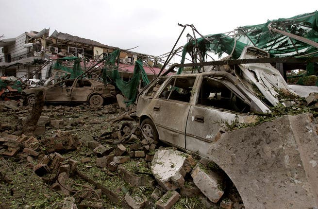 June 2, 2008, bombing of the Danish embassy in Pakistan. A car bomb killed 6 people and injured several.