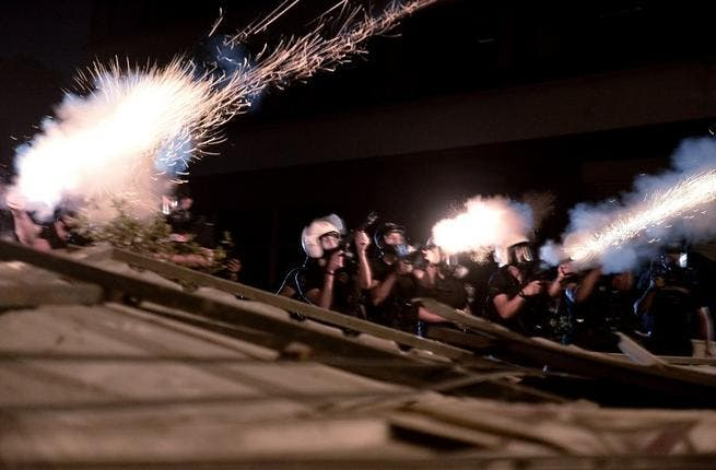 With the Turkish riot police firing gas canisters on the peaceful Istanbul crowds, it was always going to end in tears. The government later admitted that it might have used excessive force against demonstrators