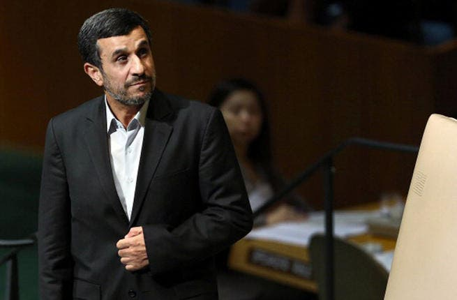 2005: President Ahmadinejad elected.  With right wing leanings,1979 hostages recall him as one of their embassy captors.Stagnating relations, the President denies the Holocaust and claims that the US is destroying Iran's rain clouds. US-Iranian relations crumble throughout his two terms in office. It still rains in Iran.