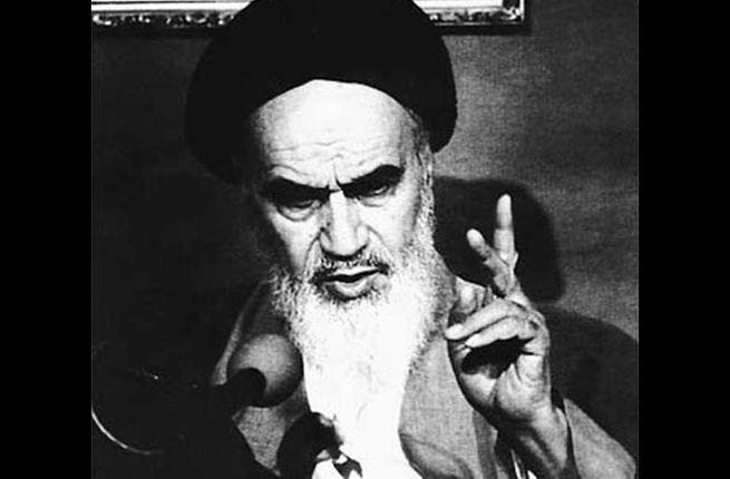1979: Khomeini returns to Iran. You've heard of actions speaking louder than words? There are also examples of words speaking louder than actions. Khomeini says: