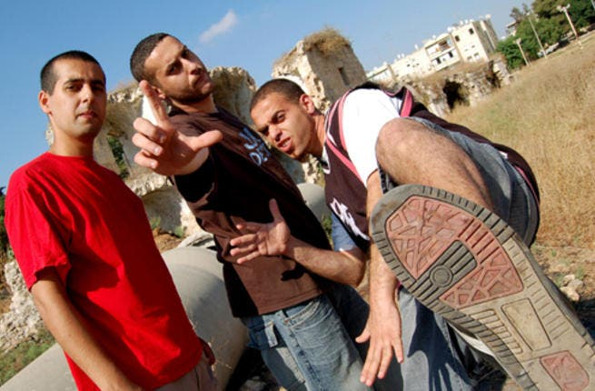 Stadium shockers 'curse' the crowds: With songs under their belt including 'Who's the terrorist?' and 'Mama I fell in love with a Jew,' Palestinian hip-hop group