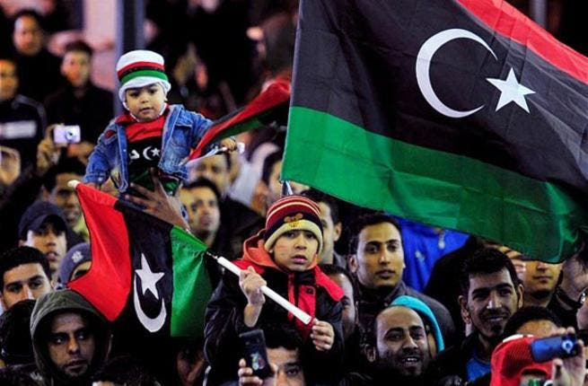 A few trifling chocolates and a handful of roses won't be troubling Libyans this year, who plan to celebrate the anniversary of their revolution on the same week as Valentine's. Looks like love for their newly democratic country will win over the kind that requires dinner dates.