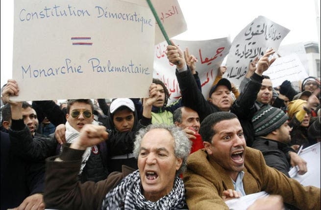 Morocco: After protests broke out demanding the King reduce his powers and the government combat corruption, the King passed constitutional reforms, ratified after a national referendum. It's not a democracy, but by and large, the people seemed to be satisfied upon passage of the referendum. Arab Spring served up royal concessions and reform.