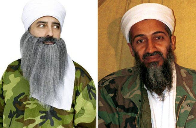 Osama Bin Laden-  OMG, you're OBL! If you're for looking for LOLs in the Arab world with this guise, think again. Somehow the verdict is still out on ol' bin Laden in these circles, so if mirroring Al Qaeda's former number one is your great idea, it's best to save that long white beard for December's Christmas party.