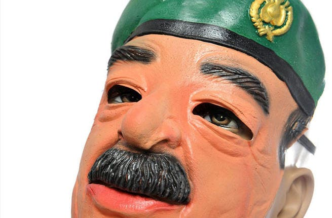 Saddam Hussein - Have you already bought the big black moustache and bushy eyebrows for what you thought would be an amazing Saddam satire? Keep the tache, buy some red overalls and go as Super Mario. Mr. Hussein is still highly revered by some Arabs and thus, out of bounds. There are plenty of other dictators to chose from.
