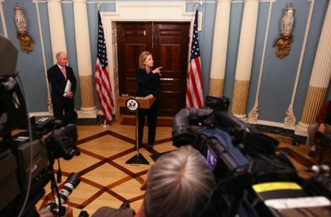 U.S. Secretary of State Hillary Clinton comments on the recent release of some 250,000 classified cables released by Wikileaks at the State Department November 29.