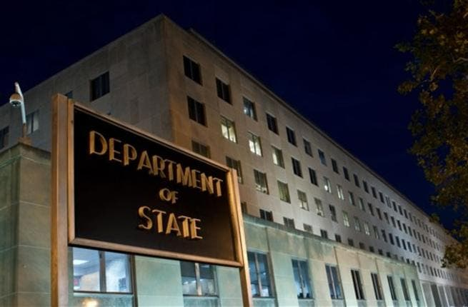 The US State Department is seen on November 29, 2010 in Washington, DC. Top US diplomat Hillary Clinton accused WikiLeaks of an
