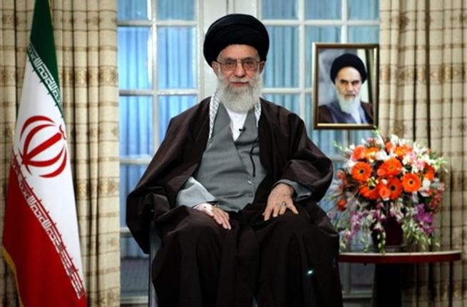 Ali Khamenei addresses the nation in Tehran on the occasion of Noruz, the Iranian New Year. Khamenei has terminal cancer and could be dead