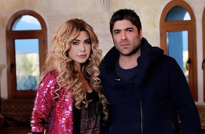 Special guest of Arab heartthrob, Wael Kfoury, fellow Lebanese star, Nawal al Zoghbi, turned most of the Middle East's women green with envy when she and Wael cosied up on the couch. Nonetheless, her vocal talents went to good use when she had her say on who should go through to the next round.