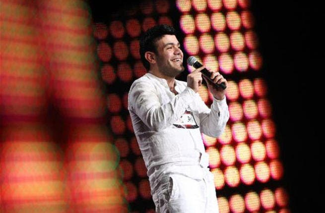 Following the idea, 'if at first you don't succeed, try and try again', after eight years of auditioning for talent shows, Syrian contestant, Sameh al Sanadili, decided to try his luck with the X Factor. And it seems it was eighth time lucky for Sameh whose efforts were rewarded with a place in the next round.