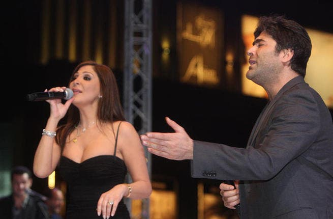 X Factor Arabia might have only just started but things are already hotting up on set between star judges Elissa and Wael Kfoury. Viewers across the region are desperate to see more of the pair's on-screen chemistry but, unfortunately for Elissa, Wael's wife might have a thing or two to say about the pair's 'budding romance'.