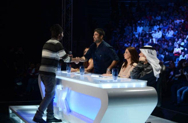 Wael Kfoury mega-fan, Ahmad Abu Khader, got within inches of his idol when his dreams were dashed by X Factor security who promptly pulled him off set. The Jordanian's day only got worse when cameras captured him blubbing like a baby.