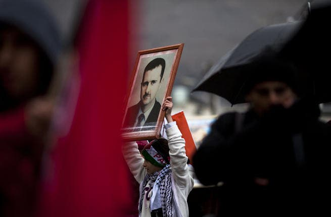 Al Assad remains immensely popular among young Syrians