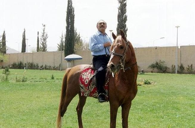He practices elite activity as horse racing (the pedigree horses come from Arabia after all) and he tries to keep involved in extravagant football hosting activity to keep up with his Gulf neighbours rich in resources. Holds his head up high.