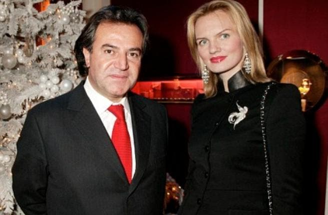 Simon Halabi, 62: Behind this Lebanon-born rich man, lurks a blond Lithuanian wife. This Lebanese fellow grew rich from real