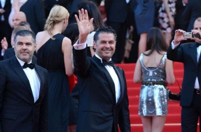 The internationally known Lebanese singer Ragheb Alama may not have been taking part in the movie making but he was still keen to show his face on the red carpet. Rumor has it that he received an official invitation from Chopard, the high class jewelers who partner the festival.