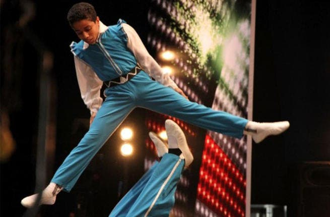 Golden wonder-boy RIP: The Boy with the 'Golden Legs's' 15 mins of fame were short-lived. Thirteen year-old Ahmed El Sherief, whose outstanding acrobatics act with his granddad received 4 yeses from the judges, died shortly after the show in a tragic twist of events, by car accident. MBC dedicated that episode of AGT to the deceased boy's talent.