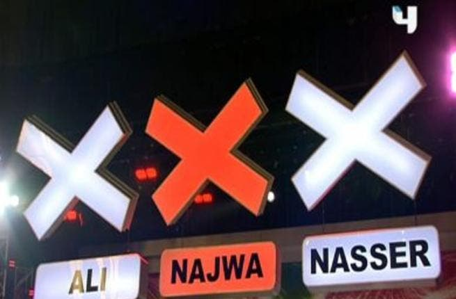 Arabs Got Talent 2: It all comes down to the buzzer. Those X's that flash red when activated. To buzz or not to buzz! And the judges are being labelled according to their buzzing habits. Ali Jaber has been christened 'Mr. Buzz.' The buzz 'infection' is spreading to Najwa, a potential Mrs. Buzz, warns MBC. The buzzers determine the talent!