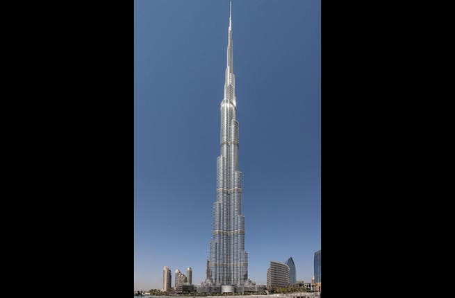 Burj Khalifa: Look up, up and up a bit more, and then you might just be able to see the tip of the tallest building in the world. At 829.8 m high, this Dubai architectural phenomenon easily rises up to spot no 1 on our list.