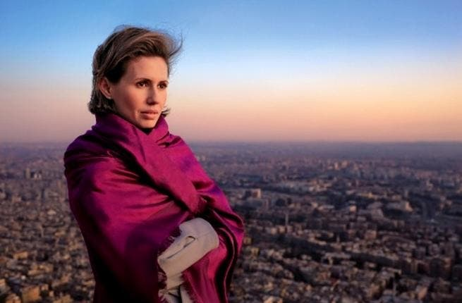 Syrian first lady Asma Al Assad proves that even when cold, she can strike a pose, in this photoshoot for Vogue magazine. Looking over Damascus, we can only wonder if Asma, more shrinking violet than Desert Rose, gets enough to eat.