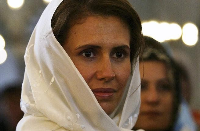 If her husband's regime should ever fall, Asma Al Assad has a promising career as a film extra, or perhaps a model for